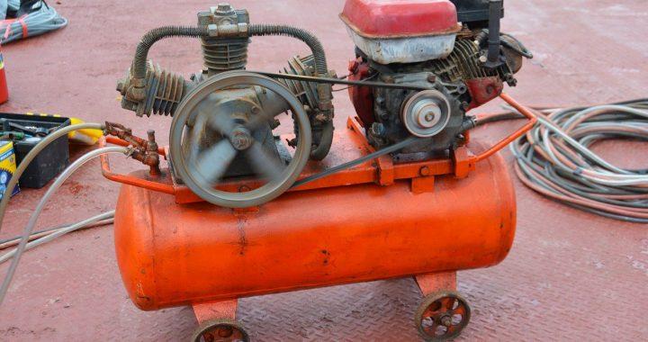 Air compressor generator