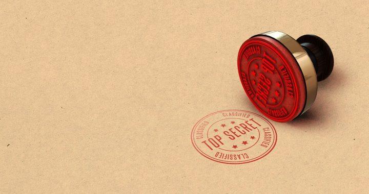 Top Secret Confidential Documents